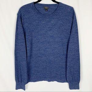 J. Crew 100% Cotton Crew Neck Pullover Sweater